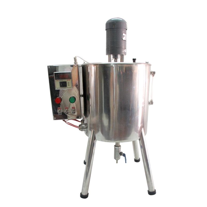 半自动加热搅拌灌装机